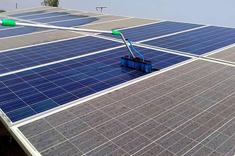 Reiniging zonnepanelen